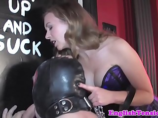 Femdom demands submissive to..