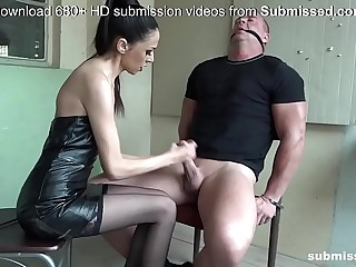 Bound man submissed by..