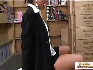 Cougar boss wants his cock..