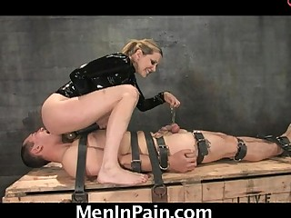 Mean Dominatrix gives..