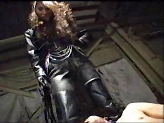 asian femdom full leather..