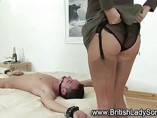 British femdom whore with..