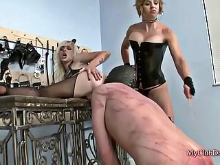 Hot Femdom Fetish Action