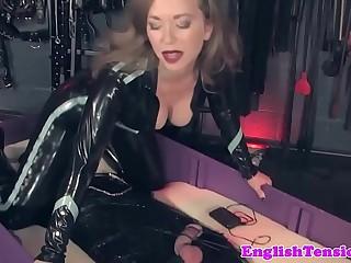 Dominant mistress queening..