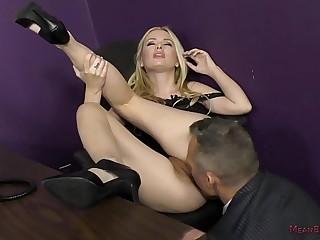 Bitchy Secretary Turns the..