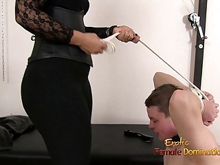 Mistress Dominating A Loser..