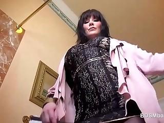 Mistress With Big Tits Fucks..