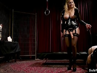 Busty blonde mistress anal..