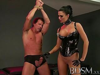 BDSM XXX Slave boy in metal..