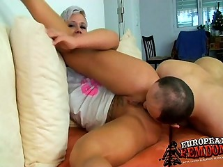 Mistress Khati Tortures Her..