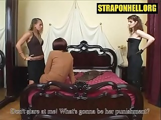 Femdom session with sissy..