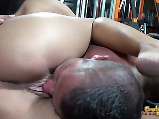 Rounded big tits and erotic..