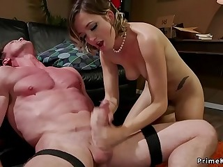 Mistress kicks and anal..