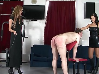 Mistresses flog and trample..