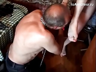 Russian mistress humilated..