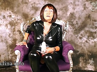 Wetlook Catsuit Mistress..