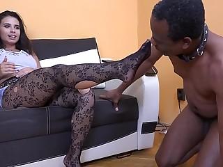 MISTRESS MIRA - FOOT SLAVE..