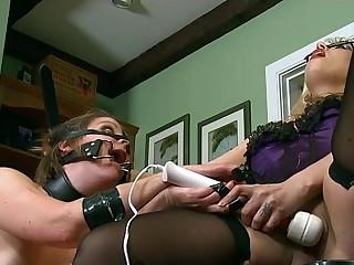 BDSM Piggy Play With Goddess..