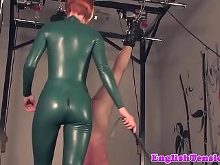 Redhead bdsm mistress caning..