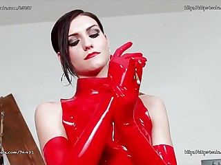 Sexy Italian Mistress in Red..