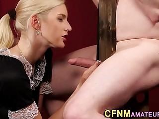 Cfnm amateur mistress
