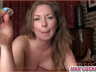 Cum Filled Condom For Cuckold