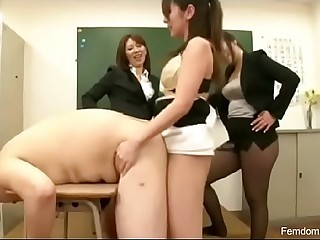 Three teachers fucking..