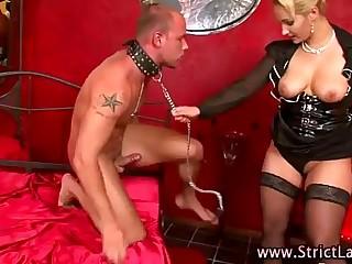 Mistress fuck cumshot