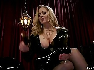 Huge tits mistress Julia Ann..