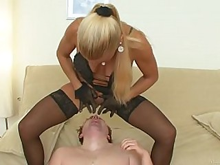 Tough mistress having fun..
