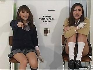 Japanese women to handjob..