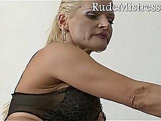 Brutal mistress and her..