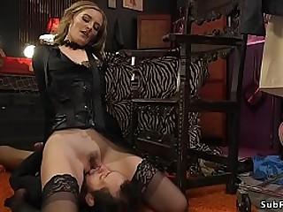 Hot blonde mistress Mona..