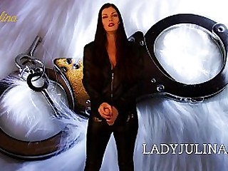 Leather Leggings Domina Lady..