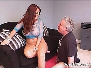 Busty Big Titty Brit Sophie..