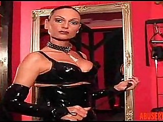 Mistress Gives a Slave a Hot..