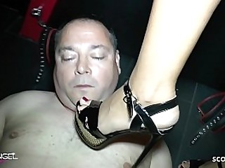 German Mistress Step with..