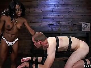 Ebony bodybuilder mistress..