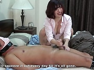 Japanese Girl Handjob with a..