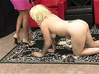 Lesbian foot worship -..