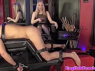 Mistress in lingerie..