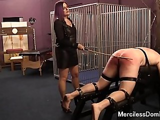Caned and In Pain - Cruel..