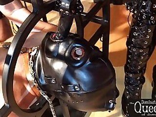 BDSM Femdom - Caged