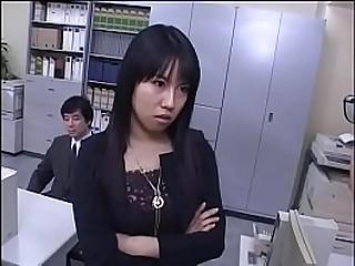 Japanese office femdom