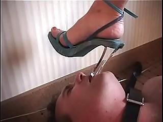 hot femdom trample foot..