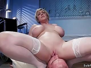 Busty Milf mistress face..