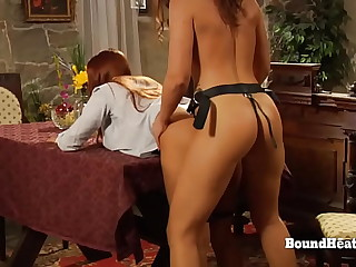 Lesbian Slave Moans And..
