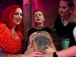 Three hot femdoms Cherry..