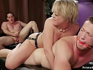 Huge tits blonde Dee..