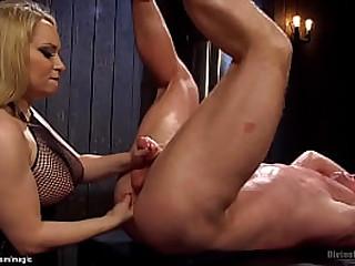 Huge boobs blonde MILF..